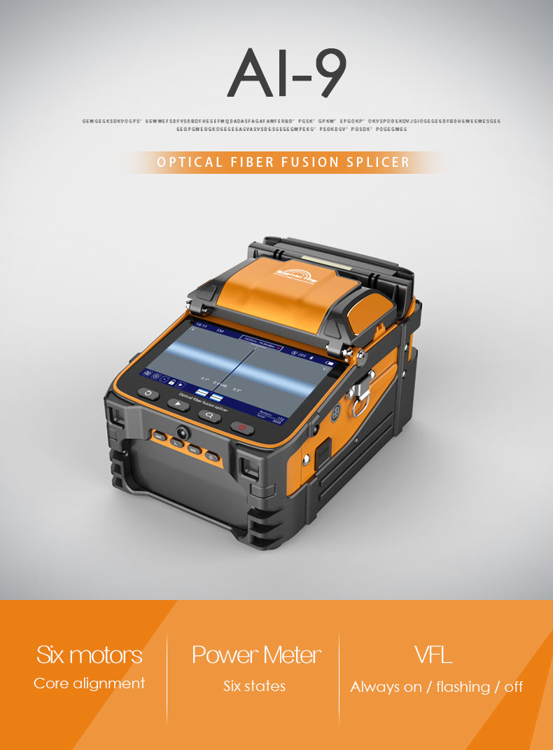 Signal Fire Ai 7 Automatic Intelligent Optical Fiber Fusion Splicer With The Combination Of Advanced Technology And Design New Generation Will Bring You A Reliable Comfortable User